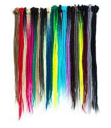 $enCountryForm.capitalKeyWord Australia - Fashion &Hot 5Strands Synthetic Handmade Dreadlocks Hair Extensions Crochet Braiding Hair Kanekalon Reggae Hair Crochet Braids