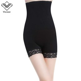 89a6c495368 Wechery Sexy Slimming Pants High Waist Tummy Control Panties Thigh Slimmer  Slim Butt Lifter Wasit Trainer Body Shapers Underwear