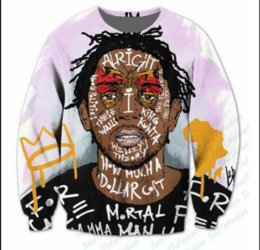 Chinese  Wholesale-Newest Fashion Womens Mens Kendrick Lamar Compton Legend Sublimation Funny 3D Print Casual Sweatshirt Tops Plus Size QQ016 manufacturers