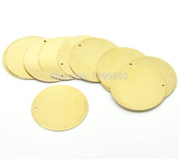 "$enCountryForm.capitalKeyWord NZ - 30Pcs Free shipping Hot New DIY Brass Metal Stamping Blanks Tags Round Pendants Charms Jewelry Making Component 28mm(1-1 8"")N15"