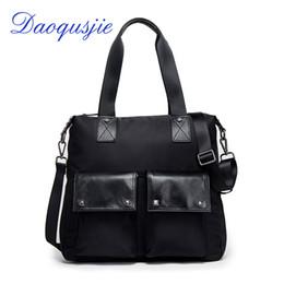 $enCountryForm.capitalKeyWord Canada - men's handbags nylon and leather big large capacity bag waterproof casual shoulder bags luxury big tote travel bag high quality