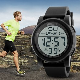 Men Digital Wrist Watches Australia - Creative Sport Watch Men Luxury Men Analog Digital  Army Sport LED Waterproof Wrist Watch Sport Bayan Kol Saati Saat