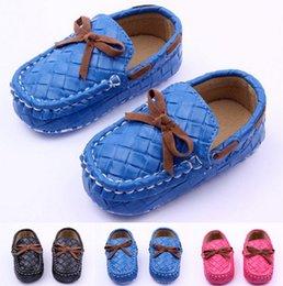 $enCountryForm.capitalKeyWord Australia - Fashion Baby PU Faux Leather Prewalker Shoes Kids Girls Boys Anti-Slip Shoes Infants Solid First Walkers
