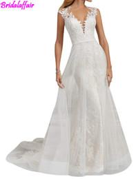 $enCountryForm.capitalKeyWord Australia - 2018 Women Wedding Dress Lace Bridal Dresses for Bride Mermaid Wedding dresses vestidos de novia robe de mariage wedding dress big size