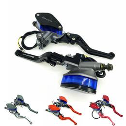 $enCountryForm.capitalKeyWord NZ - Universal 6 adjust lever Handle Hydraulic clutch Brake Pump Master Cylinder Motorcycle Racing For HONDA Yamaha Kawasaki