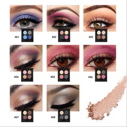 Wholesale O TWO O Brand Colors Palette Eyeshadow with Double Edge Brush Make Up Eye Shadow For Women Girl Gift Palette Professional Makeup