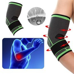 elastic elbow brace Australia - 3D Weaving Elastic Elbow Pad Wrist Palm Support Protector Brace Sports Safety Breathable Elbow Wrist Palm Pad Armguard Protector