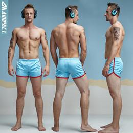 Mesh trunks Men online shopping - Solid Aimpact Shorts Men Fashion Classic Solid Mesh Men s Shorts Fast Dry Retailer Men Trunks Amc11 Summer Elastic Waist Mens Shorts