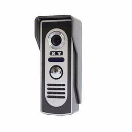 $enCountryForm.capitalKeyWord UK - Super Waterproof Video Door Phone Doorbell Camera Call and Dual Intercom Waterproof Metal Case Wide Angle