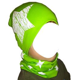 $enCountryForm.capitalKeyWord Australia - Autumn Winter Crochet Children Beanies Caps Unisex Boys Girls Coon Caps Baby Hat Cap for Girls Kids Hat Set Neck Scarf Collar