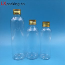 Olive Oil Containers Australia - 50 pcs Free Shipping 10 20 30 50 60 100 150 ml Transparent Plastic Pack Bottles Toner Lotion Empty Container Olive Oil Storage