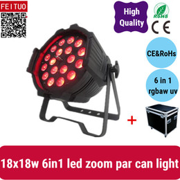 $enCountryForm.capitalKeyWord Australia - 6lights with road case 18*18w 6in1 zoom par light rgbwa uv stage light par 64