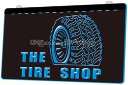 $enCountryForm.capitalKeyWord NZ - [F1050] Tire Shop Car Auto Repair Beer NEW 3D Engraving LED Light Sign Customize on Demand 8 colors