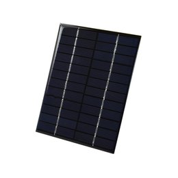 China 2W 12V Polycrystalline Solar Cell Panel PET Laminated Solar Cell Size 136mm*110mm for Solar Project and Test DHL Shipping 200pcs Lot suppliers