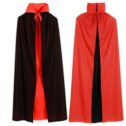 $enCountryForm.capitalKeyWord NZ - cloth wiki Umorden Halloween Costumes for Boys Men Collar Death Vampire Cloak Cape Gown Red Black 2 Side Wear Party Robe for