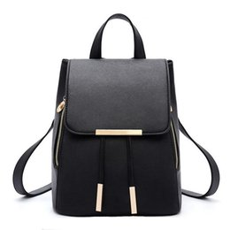 f8952a1faa2d Women Fashion Shoulder Bag Backpack PU Leather Women Girls Ladies Backpack  Travel Bags High Quality Rucksack Free Shipping Wholesale