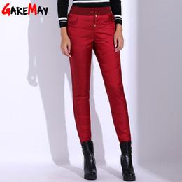 c8ccde5b5d28e Hiver Chaud Pantalon Femmes Velours Plus La Taille Pantalon Taille Haute  Cadeau Pour Maman Bas Pantalon Dames Causal Slim Pour Vieilles Femmes  GAREMAY