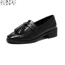 $enCountryForm.capitalKeyWord UK - XIUNINGYAN Women Flats Shoes Tassel Slip on Oxfords Shoes for Women Casual Ladies Flats Oxford Woman Brogue Loafers 2017