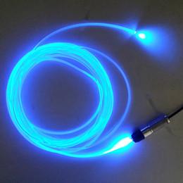Fiber optic light kits online shopping - m m m m m m DC12V W single color side glow fiber optic light kit for car interior lights pmma fiber cable