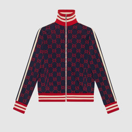 China new fashion men's jacket hot stamping embroidery casual jacket luxury brand men's jacket zipper pocket animal flower letter map cheap boys letter jackets suppliers