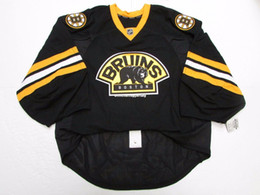 72cc3a2c5 Cheap wholesale Custom BOSTON BRUINS THIRD TEAM ISSUED EDGE JERSEY GOALIE  CUT 60 Mens Stitched Personalized hockey Jerseys