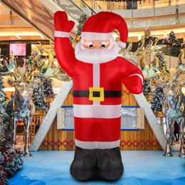 $enCountryForm.capitalKeyWord Australia - 2.4m Air Inflatable Christmas Santa Claus X'mas Outdoor Airblown Christmas Decoration Figure Kids Classic Children Toys