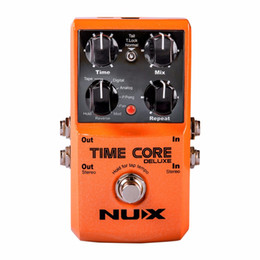 $enCountryForm.capitalKeyWord Australia - NEW NUX Upgraded Time Core Deluxe Delay Guitar Effects Pedal 7 delay effects 40 seconds loop time tone lock Delay guitar pedal