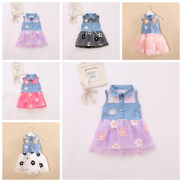 c7a0ef64f4 Ankle length denim dresses online shopping - 0 Y Girl baby kid clothes lace  denim shirt