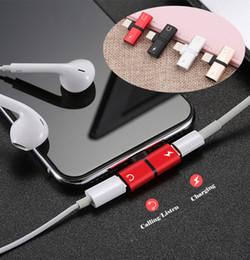 Vente en gros 2 en 1 double pour iPhone 7 8 plus au casque audio chargeur adaptateur connecteurs de câble pour iPhone 7 8 X plus pour iOS 10.3 11