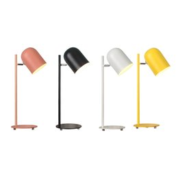 China Creative Long Arm Folding Business Metal Desk Lamp Work Office Learning Reading Bedside Bedroom Study LED Table LampLed desk lamp eye care d supplier bedding d suppliers