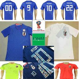 bfa92ed6c Soccer Jerseys Custom NZ - 2018 World Cup Japan Soccer Jersey 9 OKAZAKI 10  KAGAWA 17
