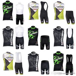 merida cycling jersey sets NZ - MERIDA team Cycling Sleeveless jersey Vest (bib)shorts sets Summer Breathable Men's Bike Sweatshirt Breathable Quick Dry c2221