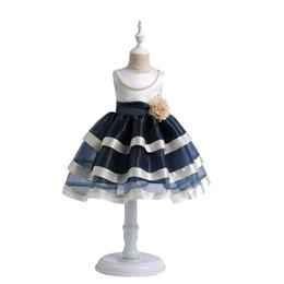 a98d83b4ac7 Flower Style Cake Dress Girls UK - Girls princess costume cosplay dress  Flower Girls Dresses for