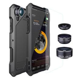 Опт Роскошный телефон объектив камеры чехол для iPhone X 6 7 8 Плюс макро широкоугольный рыбий глаз объектив чехол для Samsung S9 S7 S8 противоударный чехол