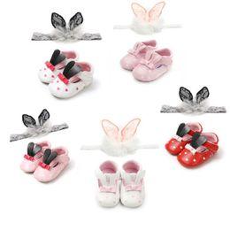 100% authentic d87dd a61c4 8 Fotos Online Hasenschuhe Kaufen-Neugeborene Baby Mädchen weiche Sohle  Leder Krippe Schuhe Anti-Rutsch-