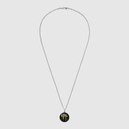 ec2a43af3ffc Collar de plata esterlina fantasma colgante femenino de Europa y América  nueva joyería de plata esterlina fábrica al por mayor para Mujeres