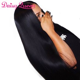 Virgin Brazilian Human Hair Wigs Australia - Human Hair Wigs With Baby Hair Brazilian Virgin Straight Lace Front Wigs For Women 8A Unprocessed Remy Hair Wigs Pre Plucked Bleached Knots