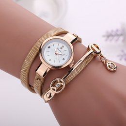 bracelets femininos NZ - Fashion Casual Bracelet Watch Wristwatch Women Dress Watches Relogios Femininos Watch 9 Colors