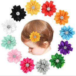 hair flowers clips orchid UK - Flowers Hair Clips Kids Barrette Tropical Beach Wedding Plumeria Flower Women Party Bridal Orchid Hairclip Hairpin Accessories