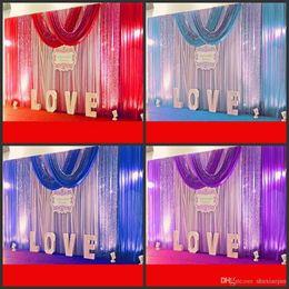 $enCountryForm.capitalKeyWord NZ - 10ft*20ft Wedding Party Stage Celebration Background Satin Curtain Drape Pillar Ceiling Backdrop Marriage decoration Veil 3M*6M