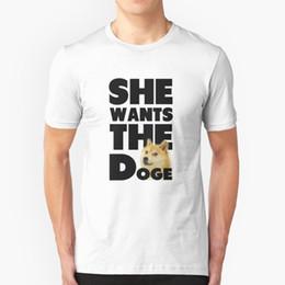 $enCountryForm.capitalKeyWord Canada - Funny Design Tees Shirt Funny She Wants The Doge Funny Dog Man Pre-Cotton Men Short Sleeve T Shirt Pop Adult Fun T-Shirts Male