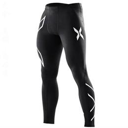 Chinese  2019 Quick Dry Compression Pants Men Running Tights Trousers Yoga Pants Sport Leggings Sportswear Gym Slim Fitness Men marathon manufacturers