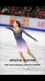 $enCountryForm.capitalKeyWord NZ - Custom Girls Figure Skating Dresses Graceful New Brand Ice Skating Dresses For Competition DR4372