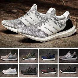 ccc0c03f92099 Ultrashoes 3.0 4.0 Uncaged Running Shoes Men Women Ultra 3.0 III Primeknit  IV 4.0 White Black Athletic Shoes 36-45