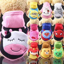 $enCountryForm.capitalKeyWord NZ - Dog Cloth Lovely Small Change Bag Package Cartoon Sweater Spider Man Superman Autumn Winter Pet Clothes Accessories 7 5gg bb