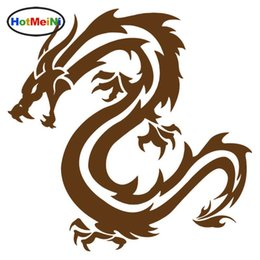 cartoon chinese dragons NZ - Wholesale Vinyl Car Styling Chinese Traditional Dragon Waterproof Decals Car Stickers