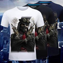 Red Hip Hop Mens Shirts Canada - Summer men t shirt 3D shorts cartoon luxury shirt stereo hip hop mens designer t shirts loose clothes mens shorts t-shirt