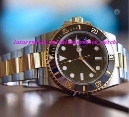 mens eta movement watches 2019 - Luxury Watch Best Qualit V7 Version Two-Tone 18K Wrapped Gold Mens Automatic Watch Ceramic Bezel Eta 2836 Movement Date