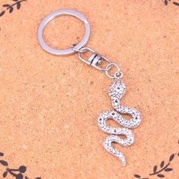 Vikingceltic 316l Stainless Steel Viking Snake Animal Keychain Cheap Sales Key Chains