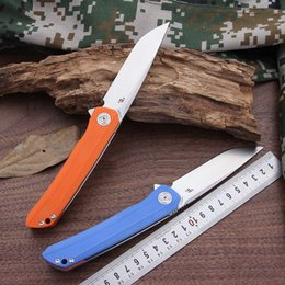 $enCountryForm.capitalKeyWord NZ - CH3002 Folding Knife Pocket Knife Hunting Outdoor Survival Rescue Camping Tools With D2 Steel Blade G10 Handle Gift Box Packaged.